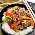 Asian Style Pepper Steak