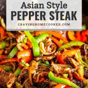 pin for asian style pepper steak.