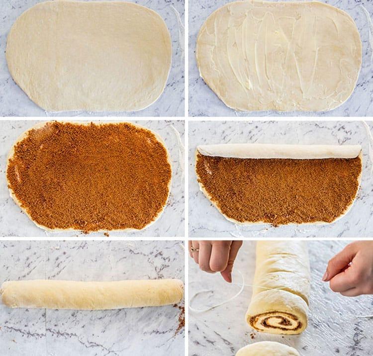 No Knead 1 Hour Cinnamon Rolls
