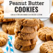 pin for peanut butter cookies.