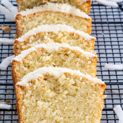 Coconut Cake With Coconut Cream Cheese Icing