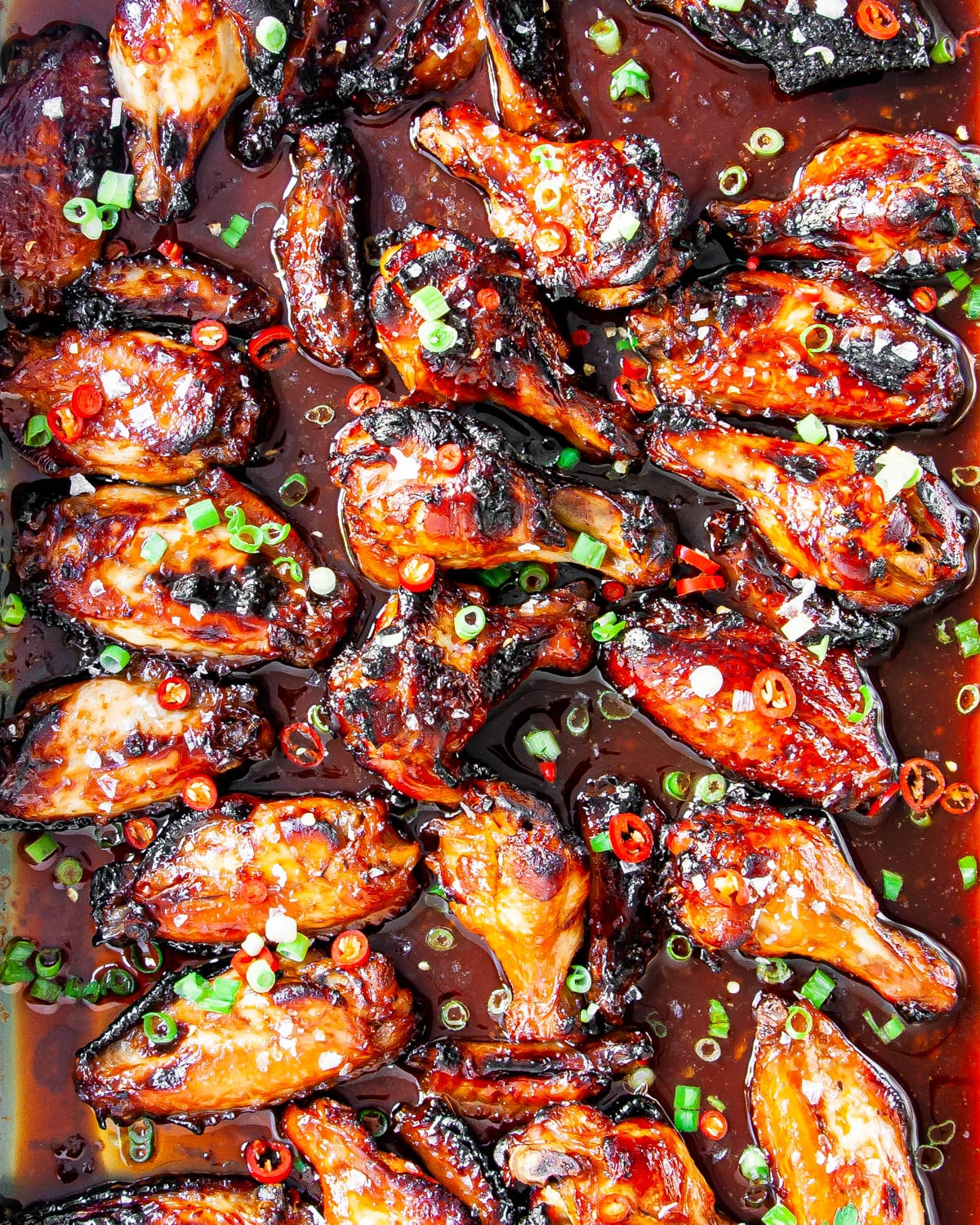 Sticky Honey Soy Chicken Wings Craving Home Cooked