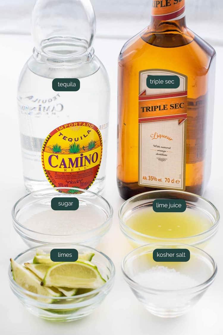 ingredients needed to make margarita