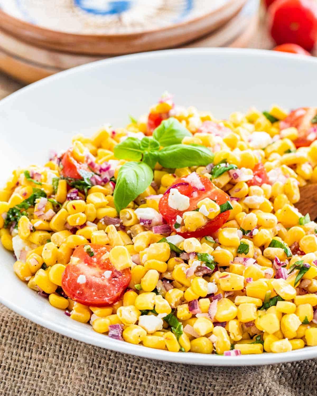 Corn Salad Recipe Easy