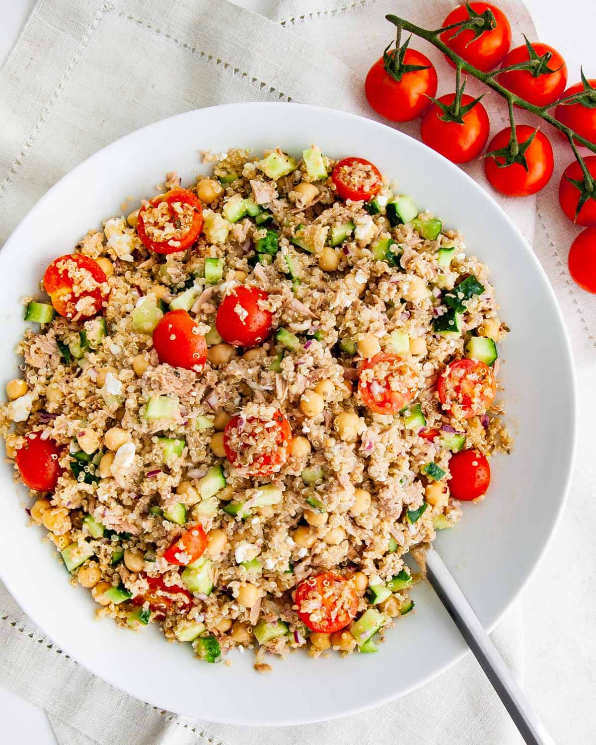 Tuna Quinoa Salad Craving Home Cooked