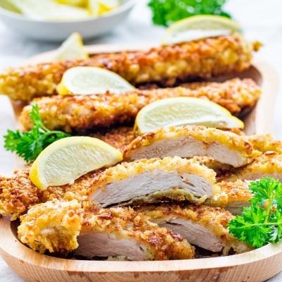 Crispy Chicken Cutlets