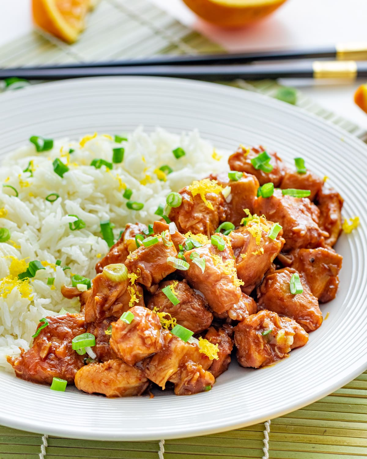 Instant Pot Orange Chicken Craving Home Cooked