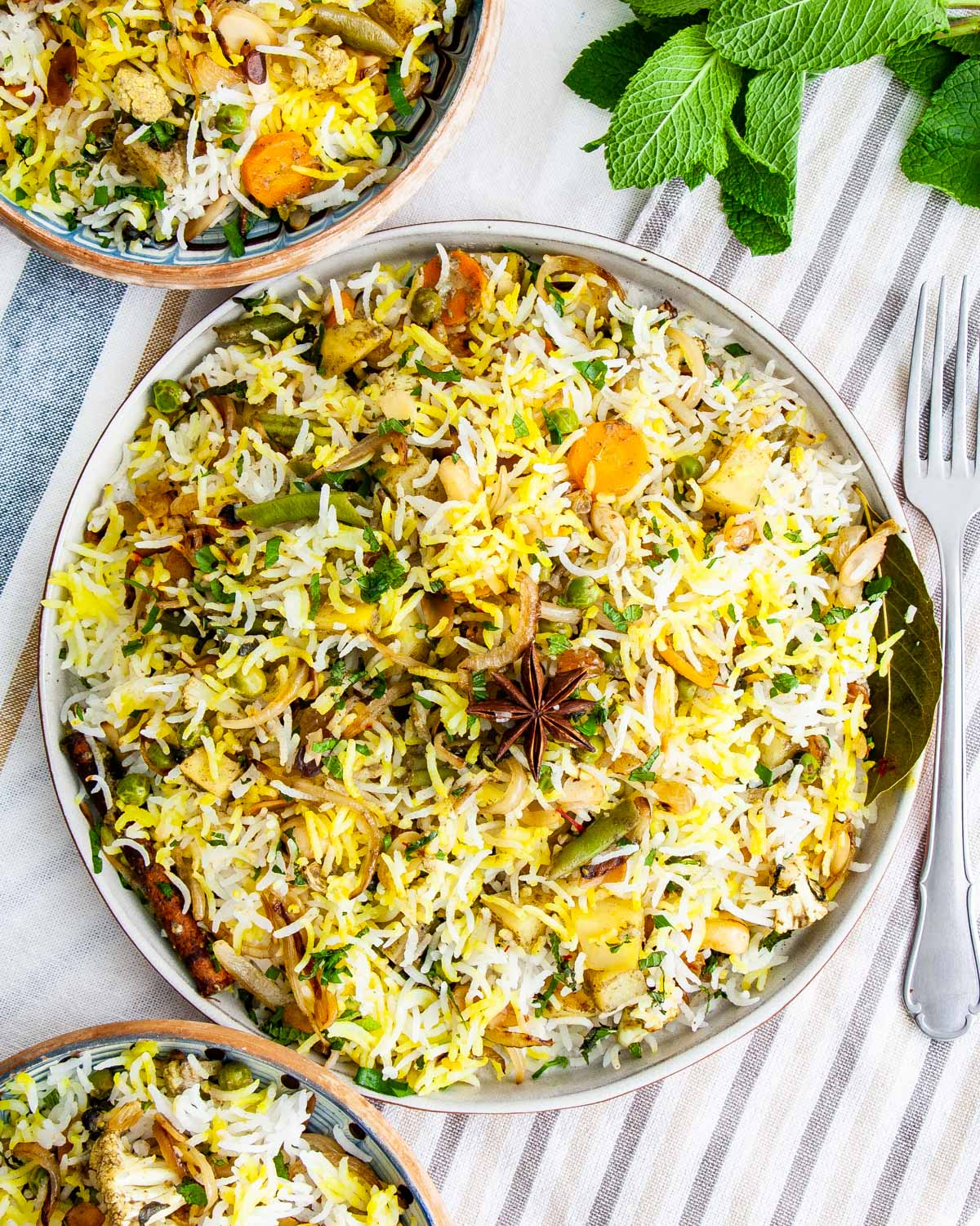 Vegetable Biryani Craving Home Cooked