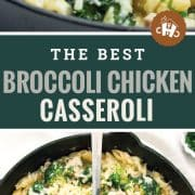 pin for broccoli chicken casserole.