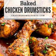 pin for oven baked chicken drumsticks.