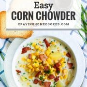 pin for corn chowder.