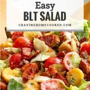 pin for blt salad.
