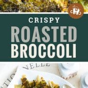 pin for roasted broccoli.