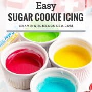pin for sugar cookie icing.
