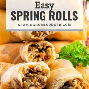 pin for spring rolls.