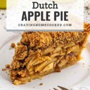 pin for dutch apple pie.