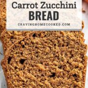 pin for carrot zucchini bread.