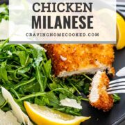 pin for chicken milanese.
