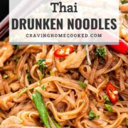 pin for thai drunken noodles.