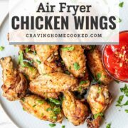 pin for air fryer chicken wings.