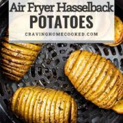 pin for air fryer hasselback potatoes.
