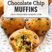 pin for chocolate chip muffins.