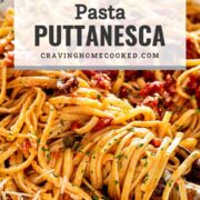 pin for pasta puttanesca.