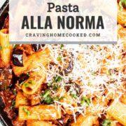 pin for pasta alla norma.